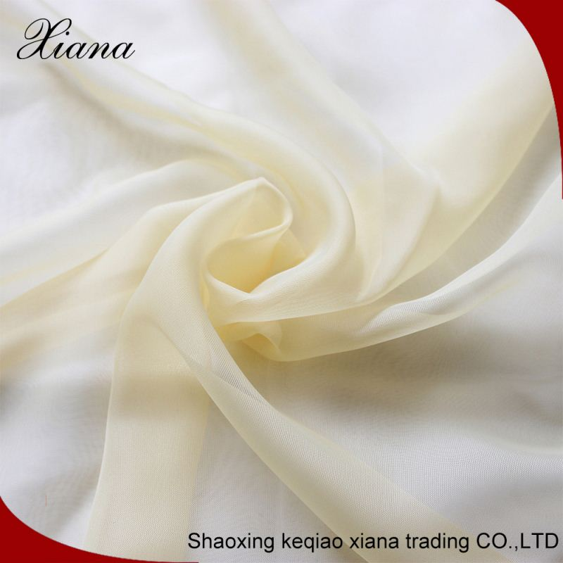 100% polyester sheer fabric polyester slub curtain fabric