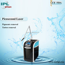 Chinese supplier Permanent Tattoo without Needles! Picosecond Q switch Nd yag Laser Tattoo Removal and Pigment