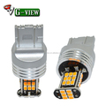 Wholesale T20 automotive led car lamp 3020 canbus 30 smd 7440 7443 turn brake light