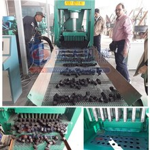high output wood charcoal / shisha briquette tablet press making machine