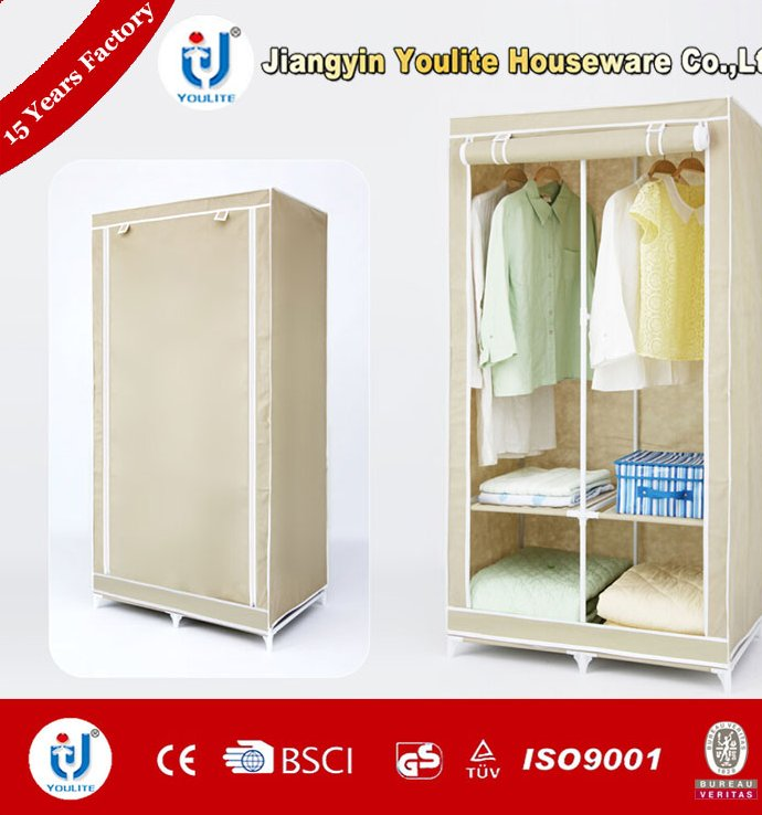 fast supplier high qulity bedroom closet wood wardrobe cabinets
