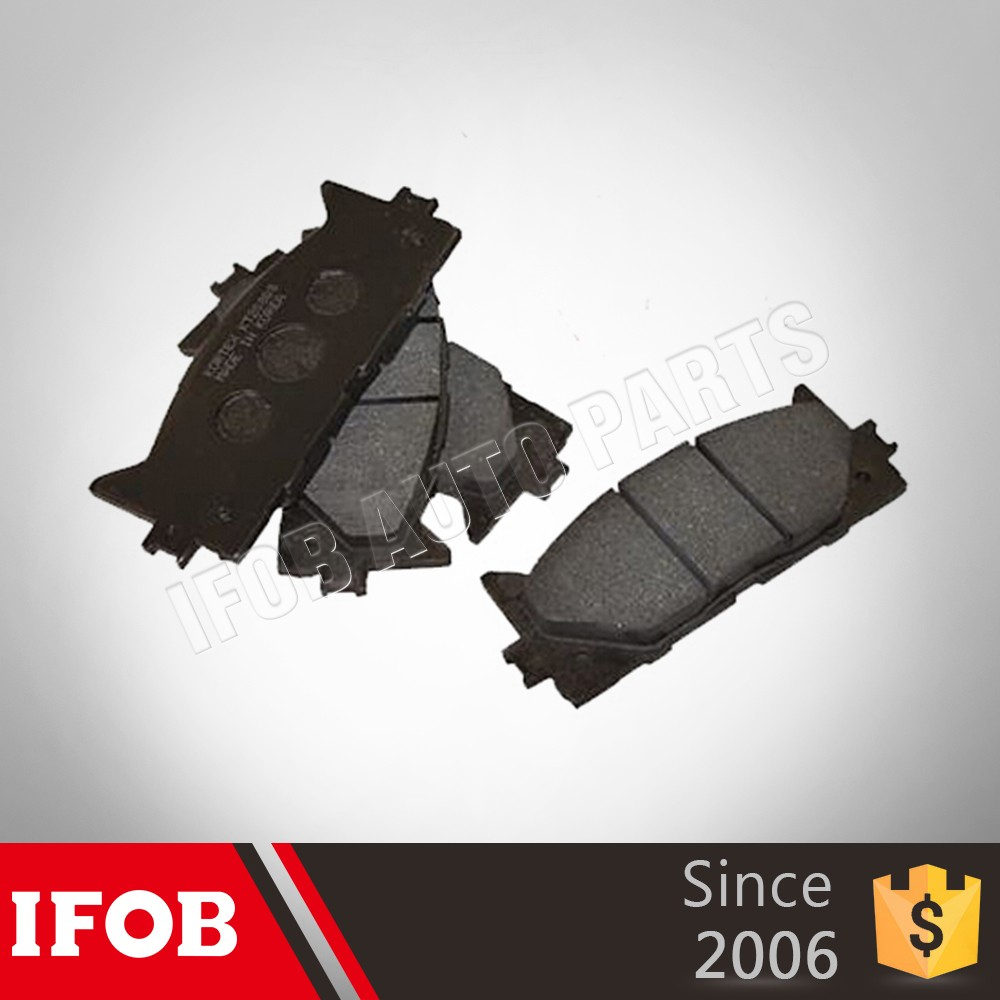 Direct Manufacturer Ifob auto brake 04465-06080 Front Break Pads for toyota CAMRY 2GRFE