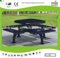 Updated KAIQI metal picnic table