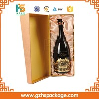 OEM customized beer bottle gift boxes with magnet cardboard wine box gift box