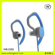 Willong Brand for smart earphone with Mic volume control talk mp3 sports headphones
