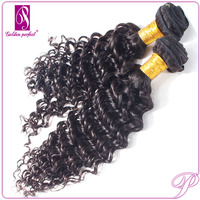 Hair Tracks Bulk Styles Virgin Brazilian Loose Deep Wave Hair Weave