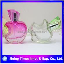 5ml apple shaped glass perfume bottle with pump sprayer cosmetic perfume bottle