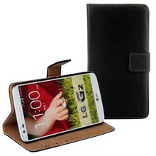 Smooth feeling Flip Cover for LG G2 D802 with Stand,Wallet style case for LG G2