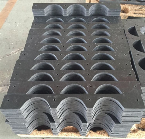 Plastic Pipe Support /HDPE/UHMWPE round spacer plastic pipe spacers