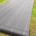 Woven Weed Control Fabric with 30cm Blue/Green Line Interval