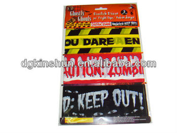 30 feets Halloween caution printing tape