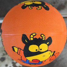 kids small rubber basketball