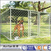 high quality galvanized chain link fence dog cage for sale cheap