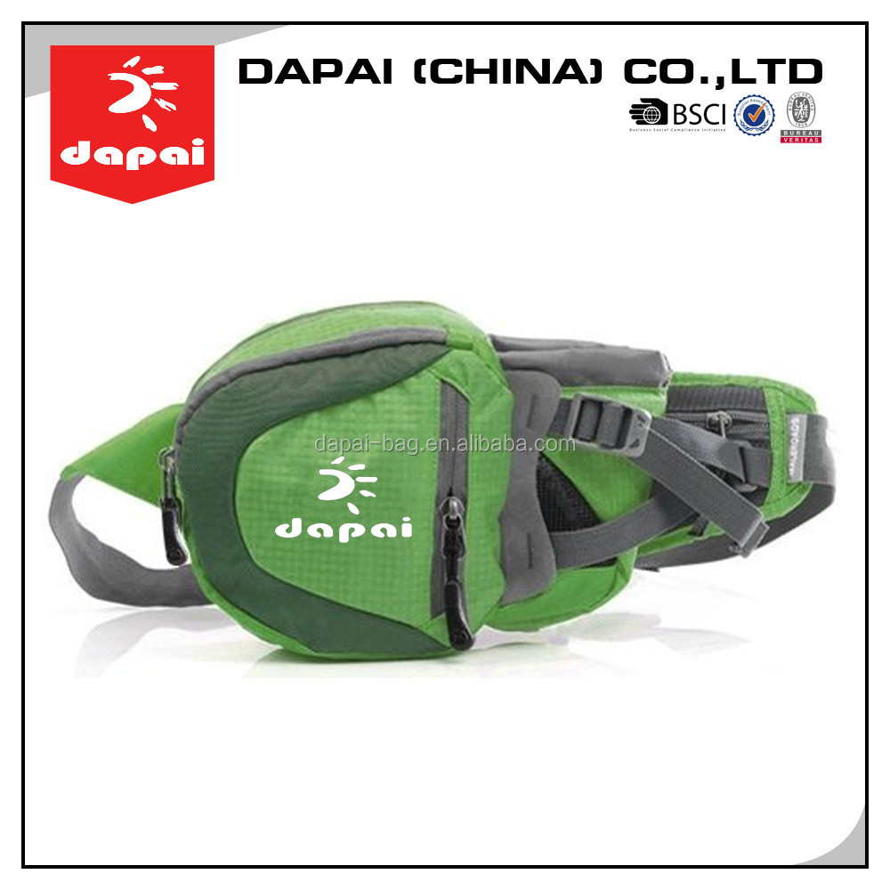 Quanzhou dapai first class elastic sports waist pouch belt bag,waterproof running waist bag