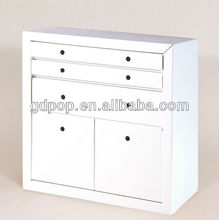 Recyclable A-PD156-5 corrugated cardboard furniture cupboard portable file storage cupboard