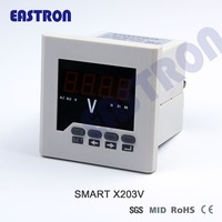 EASTRON Smart X203V Volt Meter , Voltage Digital meter, Panel Meter,96*96,72*72
