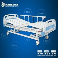 Supplier electric patient bed 3 function manual bed lift mechanism