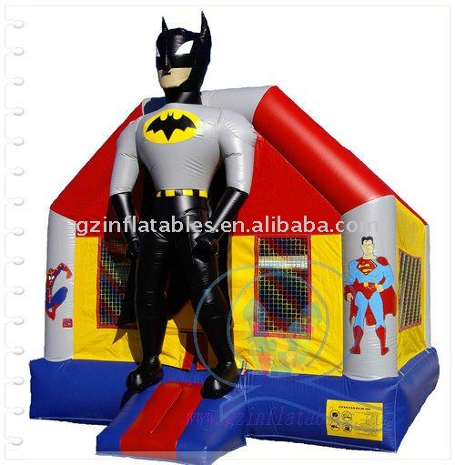 2011 {Qi Ling} Batman bouncing castles and children toys