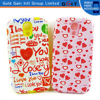 [GGIT] Hot Selling Plastic Case PC + TPU Cases For Samsung S4 i9500 Plastic Case