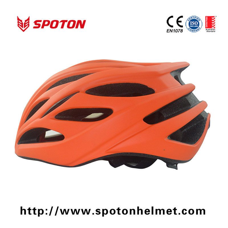 Mountain Bike Helmets , Men / Women Bicycle Helmet With Injection Molded ABS Thermoplastic Shell