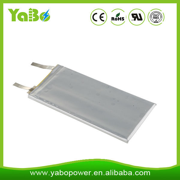 lowest price 3.7v 555069 2000mAh Li-polmer battery