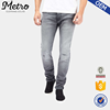 /product-detail/mens-oem-gery-slim-fit-washed-jeans-with-worn-out-look-60572184276.html