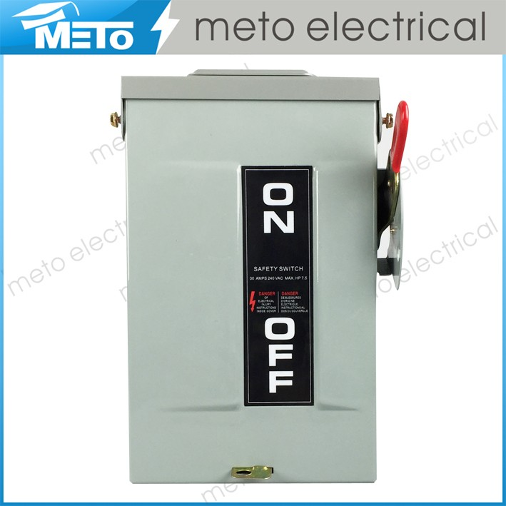Domestic Electrical Safety Switch/30 Amp Circuit Breaker Safety Switch