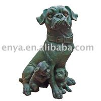 Garden Dog Statue, Animal figure/figurine, Outdoor Decoration