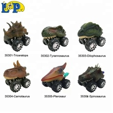 Animal Empire Hot sale 6 assorted dinosaur toy car