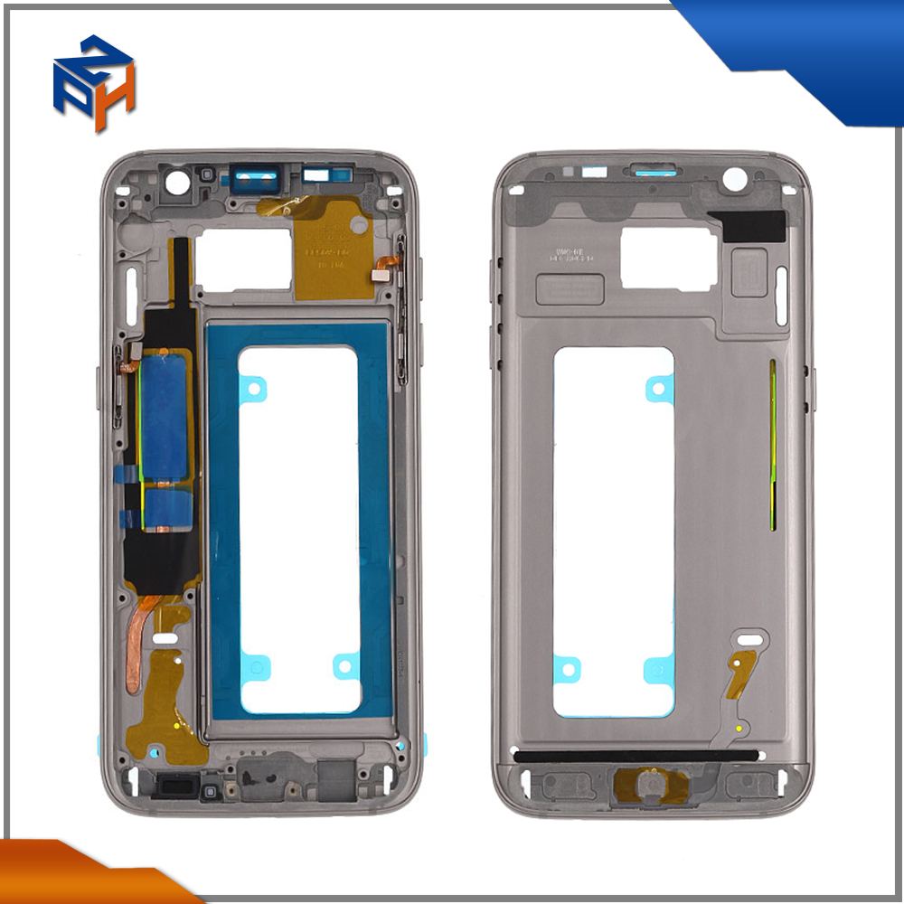 Original front housing For Galaxy s7 edge g935 lcd frame bezel
