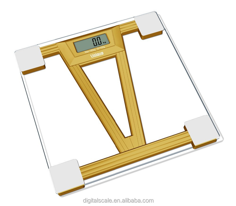 Digital Bathroom Scale With over-load indicator