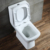 olesale wash down sanitary wares two piece portable toilets for sale