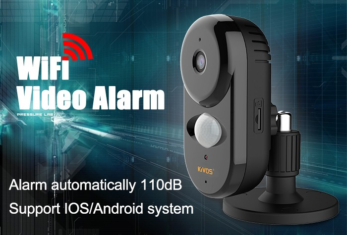 KIVOS factory supply KVA007 wifi home security alarm system new product on sale