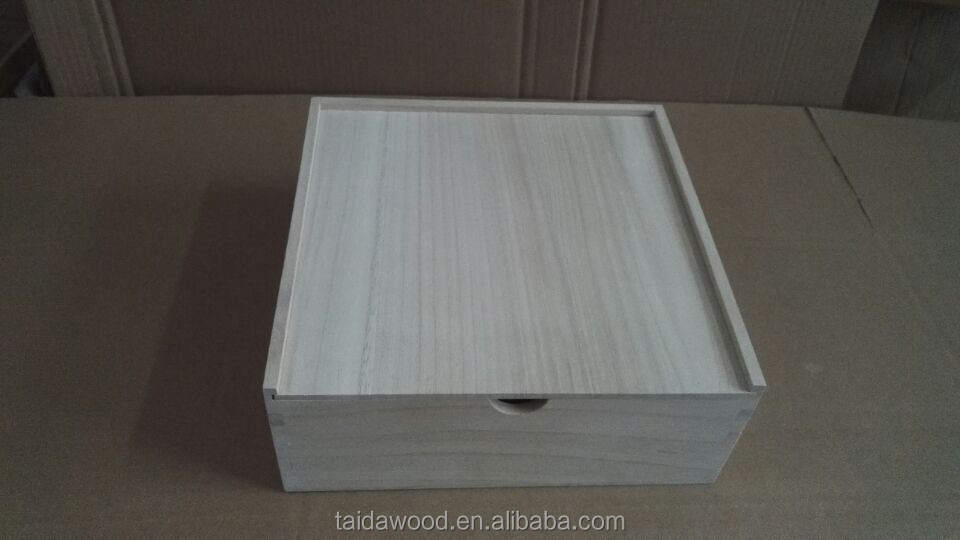 customize wholesale wooden slide top boxescarved wooden boxes wholesale hot sale