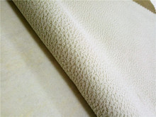 Good quality but cheap 100% polyester leather For upholstery PU sofa fabric