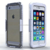 Waterproof Silicon cover case for Iphone 4