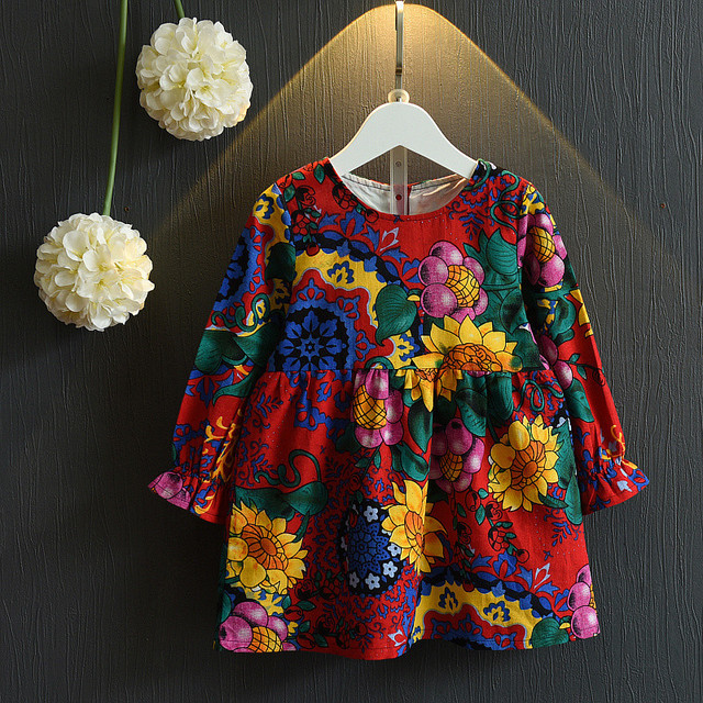 Wholesale Indian Cotton Boho Sunflower Fancy Dresses Costumes For Fat Girls