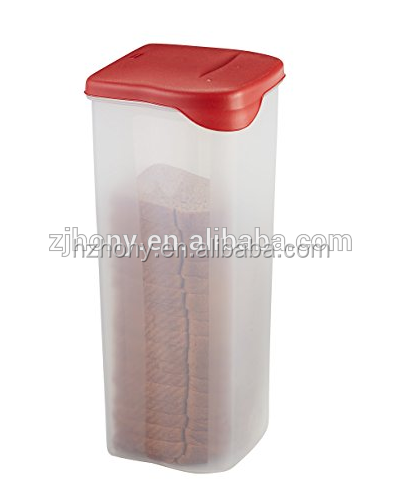 Specialty Food Storage Containers, Bread Keeper, Red Food Storage Container
