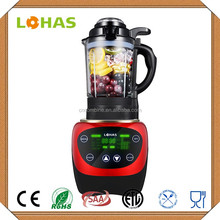 Special promotion glass jar 1200W heavy duty heating commercial blender