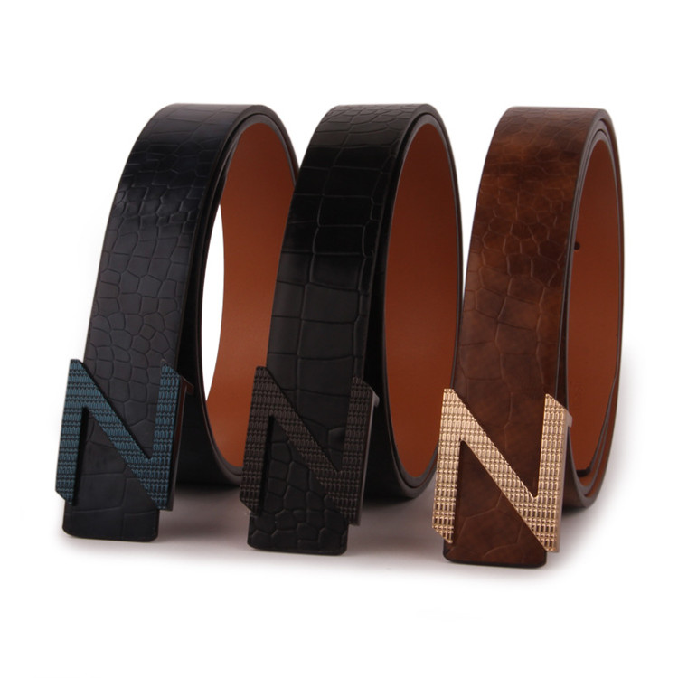 Wholesale leather <strong>belt</strong> for men genuine cow leather dress <strong>belt</strong>