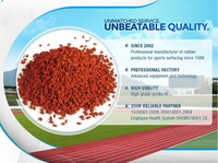 Polyurethane PU Binder and epdm Rubber Granules