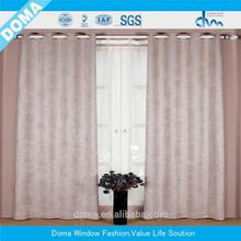 Plastic Window Covering Fabric curtains for the living room