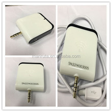 UHF 860-960 MHZ Audio jack UHF RFID reader for mobile phone tablet Android IOS