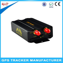 Cheap small mini waterproof gps tracker plus 103b wireless gprs sim card for lease car
