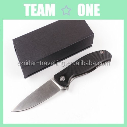 Folding knife high quality outdoor knife with box RD402304