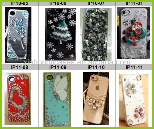 Bling rhinestone mobile phone cases
