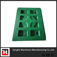 CASTING PARTS JAW PLATE FOR JAW CRUSHER HIGH MANGANESE CRUSHER LINERS