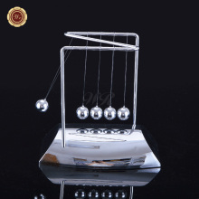 Wr Creative Birthday Gift Newton's Cradle Balance Steel Ball Physics Science Pendulum Nice Desk Decor <strong>Craft</strong> 19*18*11cm