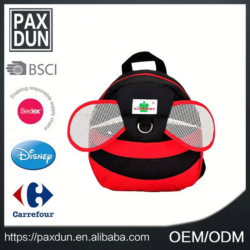 Lovely bee shape promotion Cheap Book Bag For Kid