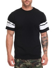 New model blank fitted Custom Brand Sports Elongated t shirt supplier